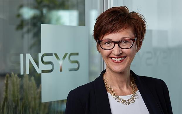 Logos von INSYS icom und Gildemeister energy efficiency GmbH