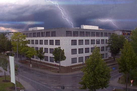 Wartung bei Blitzschutz